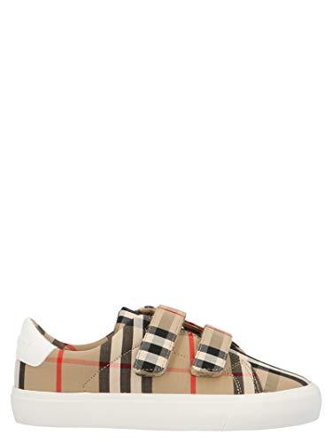Luxury Fashion | Burberry Jongens 8018819 Beige Polyamide Sneakers | Seizoen Permanent