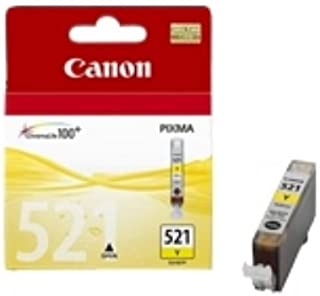 Canon 2936B001 (CLI-521 Y) Ink cartridge yellow, 477 pages, 9ml