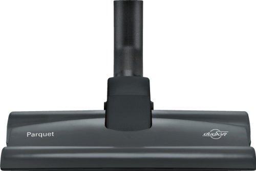 Bosch Hartbodendüse für Staubsauger, BBZ124HD, 2 rotierende Rollen, extra flach, 100% Naturhaar, für Hartböden, Teppich, passend für Reihen BSG8, BSG7, BGS6, BSGL4, BSGL3, BX3, schwarz