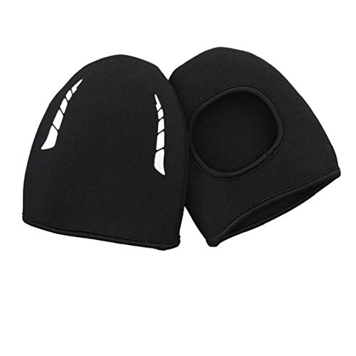 Uayasily Neoprene Thermal Cycling Biking Overshoes Toe Cover Warmers Windproof Feet Foot Protection Mountain Road Biking