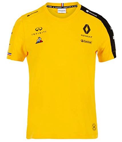 Renault F1 2019 Heren Team T-Shirt Geel
