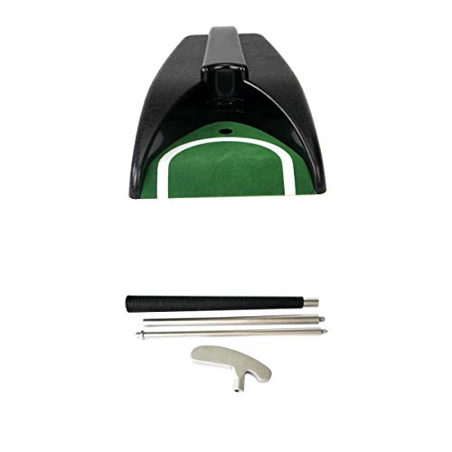 MagiDeal Putter de Golf Plegable para Diestros/Zurdos de 3 Secciones y Copa de Colocación Automática