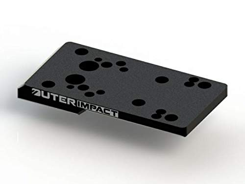 Outerimpact Red Dot Adapter Mount for Ruger American and Ruger 57 Pistols