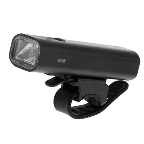 N/A/a Luz de Bicicleta Recargable USB - con Logo