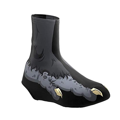 GTE Beast Feet - Funda para Calzado de Ciclismo para Hombre, Resistente Al Viento, Térmica, Cálida, para MTB, para Bicicleta, Cubrezapatillas para Bicicleta de Carretera (Size : Medium)