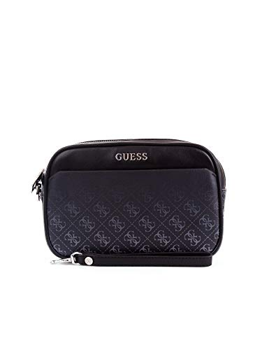 GUESS Dan 4G Black Multi Toilettas HM6853-PL201-BML