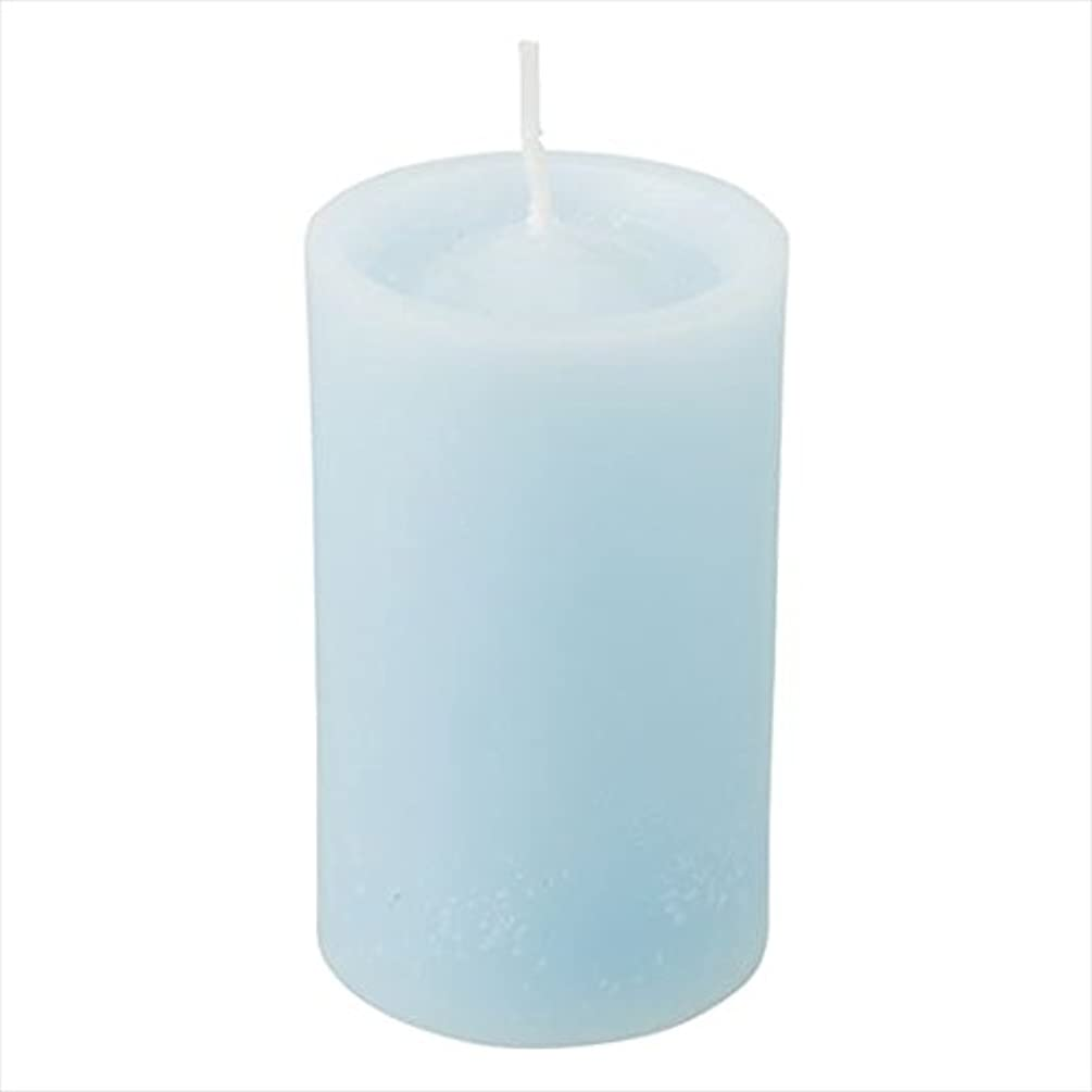 サービス故意のながらカメヤマキャンドル(kameyama candle) ロイヤルラウンド60 「 ライトブルー 」