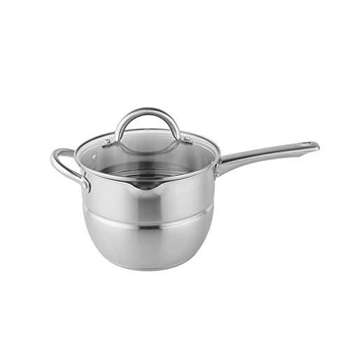 Soeppan JXLBB 304 Roestvrij Staal Multifunctionele Cooker Inductie Cooker Steamer Koken Pan Koken Noodle Sneeuwpan 20 cm Koken Gebakken Hot Multi-purpose Materiaal Veilig en Gezond