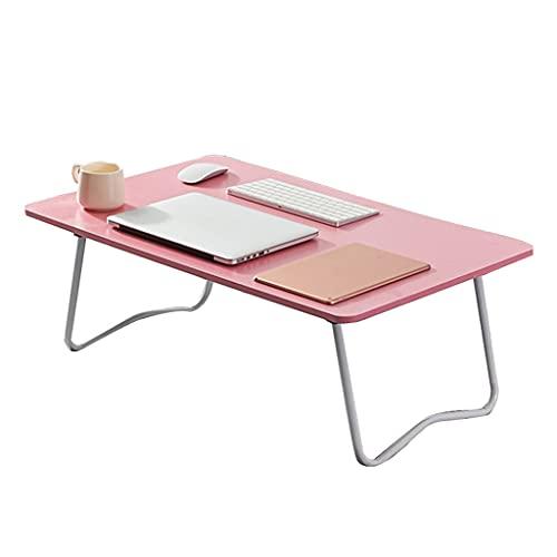 SYN-GUGAI Laptop Bed Table Escritorio para Cama Sofá Bandeja de Cama de Desayuno, Plegable Café Bandeja Soporte de Lectura (Color : B)