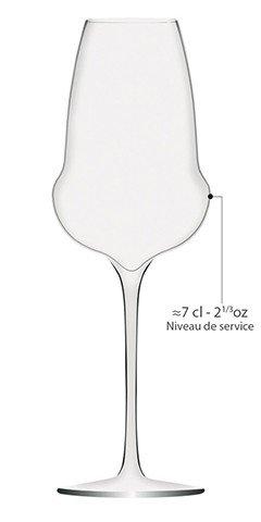 AlsaceCadeau 6 Flûtes OENOMUST 34 cl - Cristallin