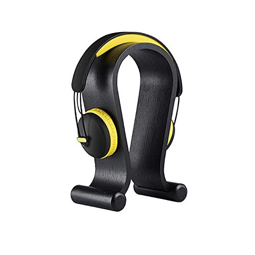 Soporte para Auriculares Soporte Auriculares Perspectiva de soporte para auriculares de madera Perspectiva simple de protección para auriculares para Auriculares de escritorio para PC Gaming en cafés