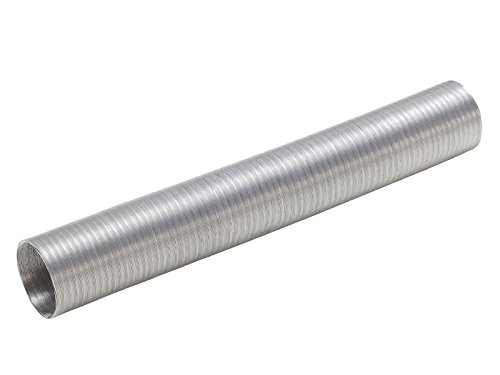 Aluminium Flex Luftschlauch 40 mm x 1 m flexibel Aluschlauch Hitzeschutzrohr KfZ