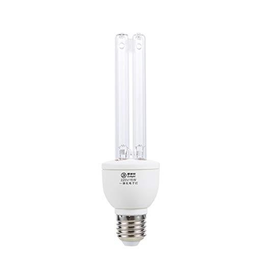 E27 15w / 25w Sterilisationslampe Uv-Lampen Desinfektionslampe Light Antibakterielle Rate 99,9% Ohne Lampensockel FüR Haushalt Toilette Schlafzimmer
