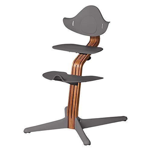Nomi Hochstuhl, testsieger, für Kleinkind bis Teenager und darüber hinaus mit nahtloser Verstellbarkeit, besser als ein Esszimmer-Site, modernes Design, starker Holzstiel.