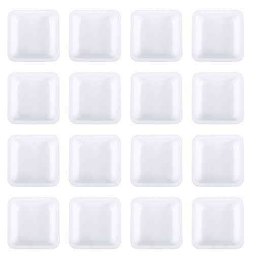iplusmile 50pcs Weighing Boat Professional Lab Scale Square Dish Boat Powders Liquids Mixing Weighing Tray for Home Shop 100ml