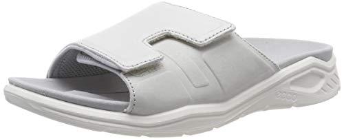 ECCO Damen X-TRINSIC Pantoffeln, Weiß (White 1007), 41 EU
