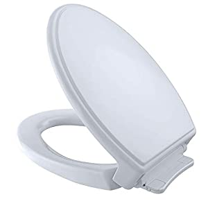 "SoftClose action reduces injury and eliminates ""Toilet Seat Slam"" Comfortable ergonomic design and Molded bumpers and Mounting Hardware included Solid High-Impact, High Gloss Polypropylene Resistant to chemicals and cleaning agents Length 18.5"", Widt..."