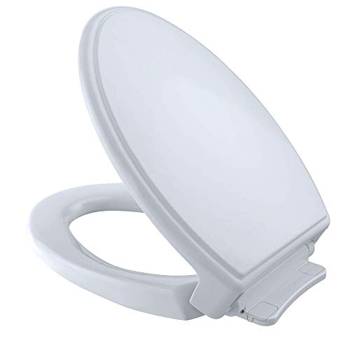 TOTO SS154#01 Traditional SoftClose Elongated Toilet Seat,...