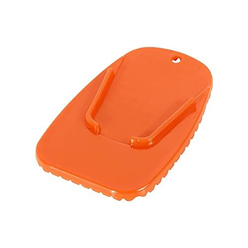 nuocaibai cavalletto Moto Supporto per Piastra di Supporto per Cavalletto per Moto Universale Pad Supporto per Cavalletto Laterale per Cavalletto (Color : Orange, Size : 1pcs)