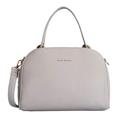 Lino Perro Grey Colored Hand bag (Grey)