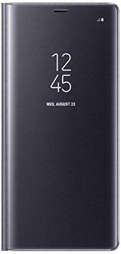 Samsung Mobile Clear View Standing Cover Custodia Compatibile Galaxy Note 8, Grigio
