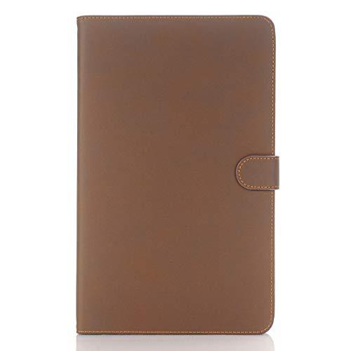 Dmtrab para Para Samsung Galaxy Tab A 10.1 / T580 Case, Archaize Texture Magnetic Horizontal Flip Funda de Cuero con Titular (Negro) Casos de la Tableta Galaxy (Color : Brown)