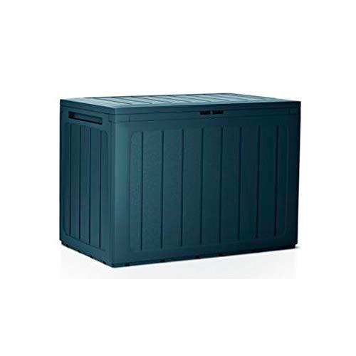 Prosperplast Baul de Jardin 190 litros Boardebox de plastico en Color Antracita 78 x 43,3 x 55 cm, 190 L