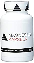 YPSI magnesium capsules / composition of 3 different magnesium forms, aspartate, tri-citrate and bis-glyzinate / 525mg per capsule