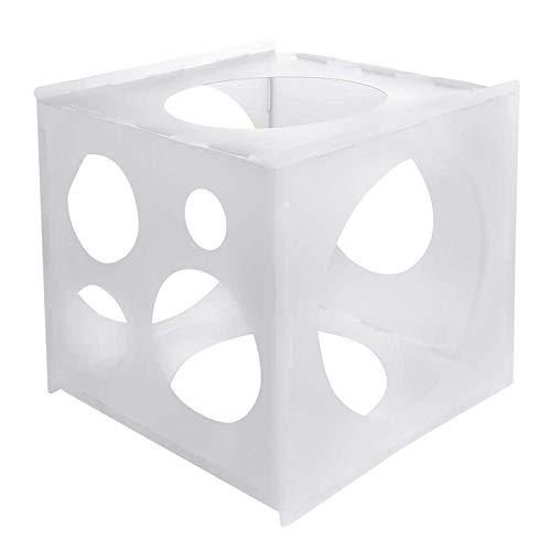 11 agujeros para globos de la caja del medidor del globo de PP cuadrada herramienta de medición para arcos de globos para fiesta de cumpleaños boda decoración de fiesta
