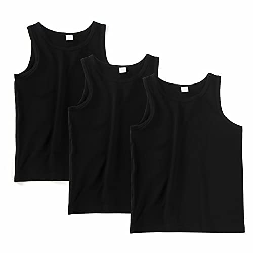 MingLaken Camiseta Interior de Tirantes para niño/Camisetas sin Mangas para niños de...
