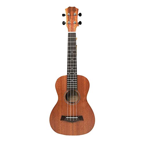 RJDJG 21 Pulgadas Ukulele Soprano Principiante Ukulele Guitarra Patrón de Ukulele Cuello Delicado Tuning Peg 4 Cuerdas Q12.9