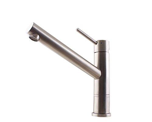 Villeroy & Boch 927500LC V&B Como X eenhands-wastafelkraan roestvrij staal massief