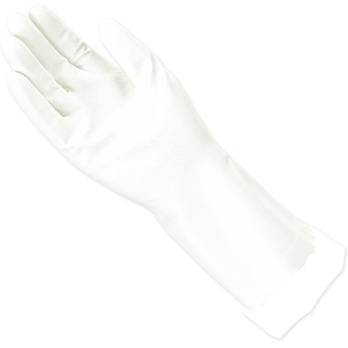 Mr. Clean, 243032 Bliss, Small Latex Free, Vinyl, Soft Ultra Absorbent Lining, Non- Slip Swirl Grip Gloves, (Small)