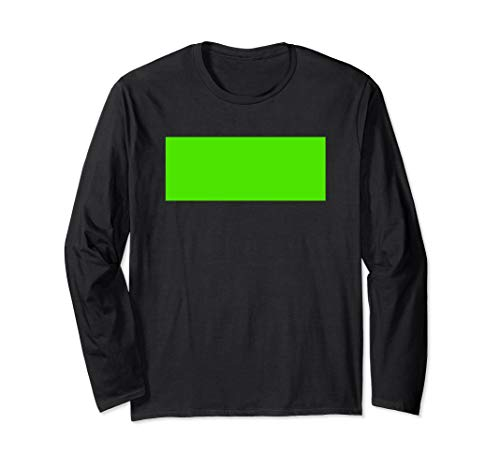 Green Screen Design Chroma Key Photo Video Effect Langarmshirt