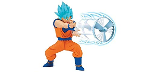Dragon Ball Super - GOKU SS BLUE Figura Kamehameha (Bandai 35873)
