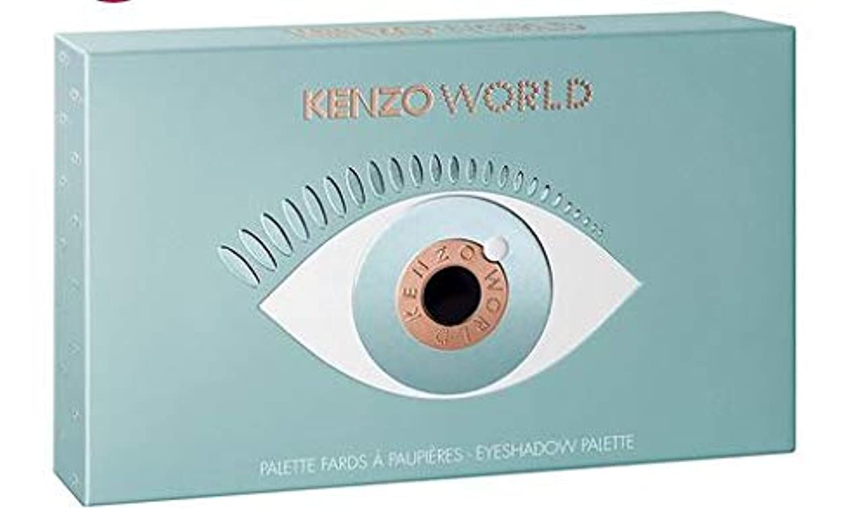 同一のバレエアジテーションケンゾー ワールド パレット 8色xアイ パレット + ケンゾー ワールド EDP 1ml