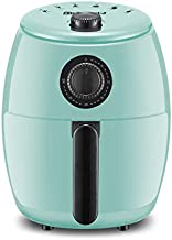 Elite Gourmet EAF-0201BL Personal 2.1 Qt. Compact Space Saving Electric Hot Air Fryer Oil-Less Healthy Cooker, Timer & Temperature Controls, PFOA/PTFE Free, 1000W, Quart, Mint