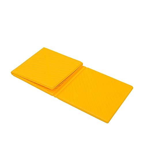 1 unid arena prueba Mat Picnic Mat al aire libre manta suave viaje amarillo Eva 83x52x0.8 cm prueba de calor al aire libre Picnic Mat