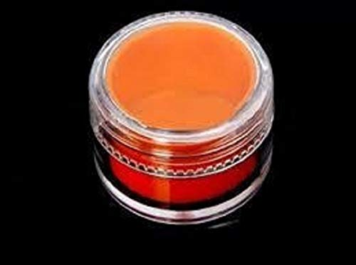 5 mL Acrylic Concentrate Container with Silicone Insert (Orange) (50 Count)