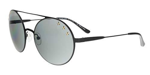 Michael Kors 0MK1027 Gafas de sol, Shiny Black, 55 para Mujer