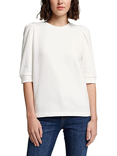 edc by Esprit 110CC1J302 Sudadera, 110/Off White, S para Mujer