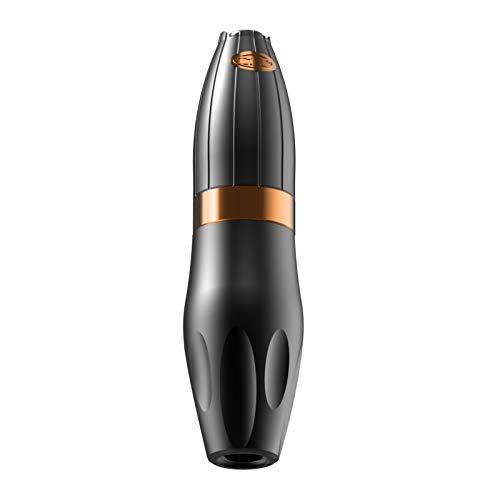 HAWINK Máquina rotativa de tatuaje Cartuchos cortos Pluma Motor sin núcleo para tatuadores profesionales Naranja CNC-M-P5-8