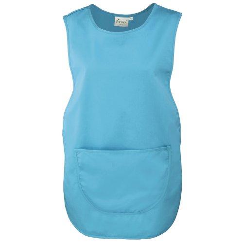 Premier Damen Arbeitsschürze mit Tasche (2XLarge) (Türkis)