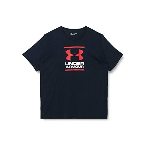 Under Armour UA GL Foundation Short Sleeve Tee, Super Soft Men's T Shirt for Training and Fitness, Fast-Drying Men's T Shirt with Graphic Men
