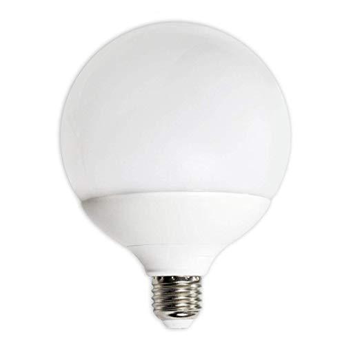 Vetrineinrete® Lampadina a led 21 watt attacco e27 a sfera luce naturale 4000k risparmio energetico lampada per illuminazione equivalente alogena 200 watt B60