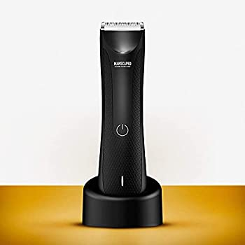 MANSCAPED™ Electric Groin Hair Trimmer The Lawn Mower™ 3.0 Replaceable Ceramic Blade Heads Waterproof Wet / Dry Clippers Standing Recharge Dock Ultimate Male Hygiene Razor