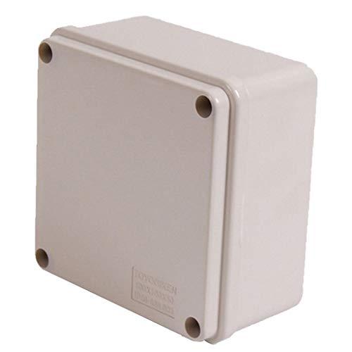 Recinto Del Proyecto Eléctrico De La Caja De Conexiones IP66 100x100x50mm Para...