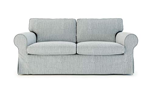 TLYESD Kids and Pets Friendly Ektorp Loveseat Sofa Cover for IKEA Two Seater Ektorp Slipcover