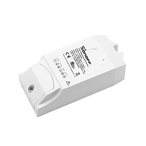 Vokmon Pow R2 Remoto de Control de luz Interruptor WiFi Voz de Potencia de Control del Monitor Protección contra sobrecarga de Voz Control de Horarios Temporizador