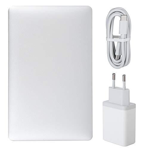 Mini tableta, Pocket 2 IPS Pantalla táctil 4GB LPDDR3-1600 Mini computadora portátil para Windows 10(Transl, European regulations)